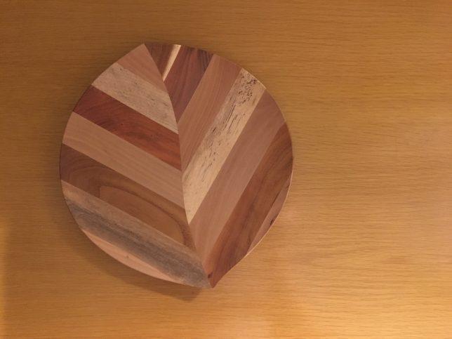 くだものうつわ 木の葉皿